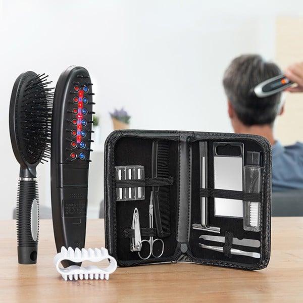 Cepillo Eléctrico Anticaída con Accesorios