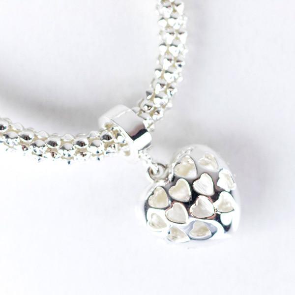 Pulseira Coração Diamante
