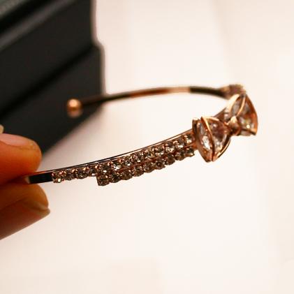 Bracelete Laço Cristal