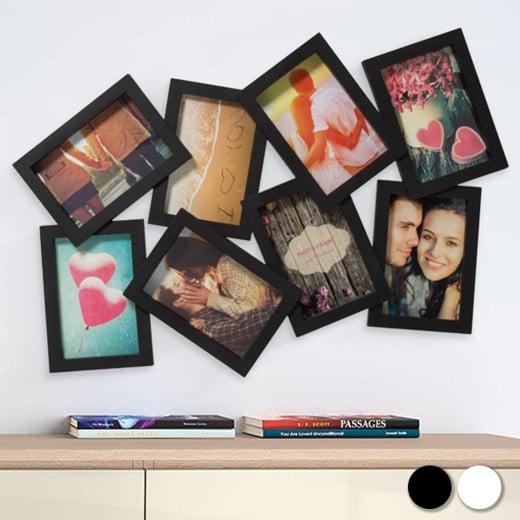 Porta-fotos 8 Fotos (4 por 2 - 10 x 15 cm)