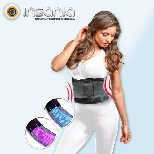 Cinto Corsé Moldeador Fitness Slim 3 en 1