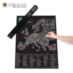 Viajar, Bon-vivants, Gourmet, Mapa Mundo, Mapa Mundo Raspadinha, Para Mãe, Prendas Loucas, Madre