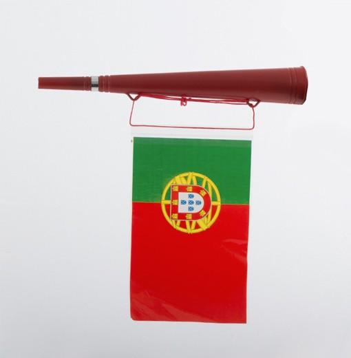 Vuvuzela c/ Bandeira de Portugal