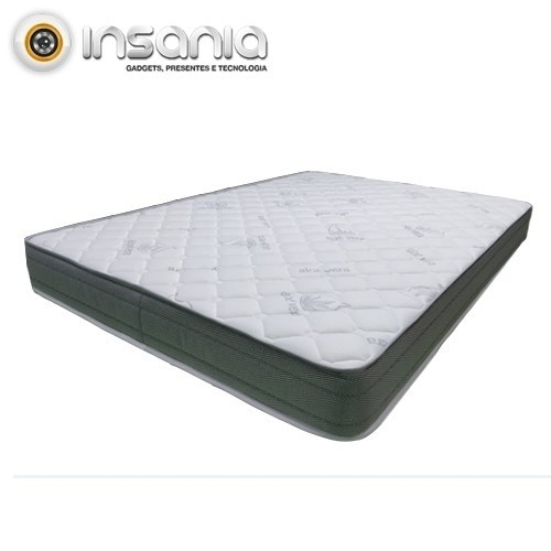 Colchão Viscoelástico Deluxe Casal 145x195 cm