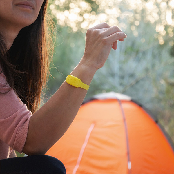 Pulseira Anti-mosquitos de Citronela