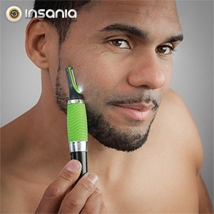 Aparador de Barba e Cabelo com LED