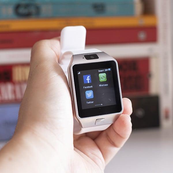 Smartwatch con Cámara y GSM Android e iOS