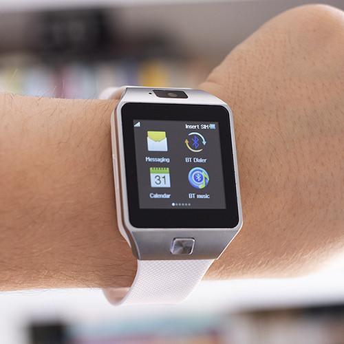 Smartwatch c/ Câmara e GSM Android e iOS