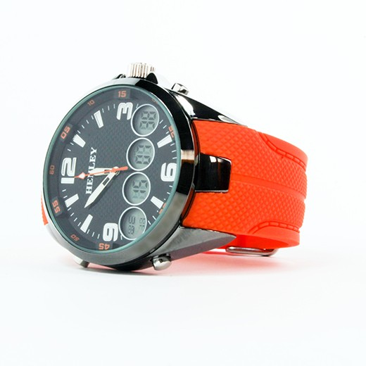 Relógio Henley Chrono Laranja