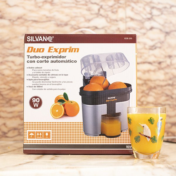 Exprimidor de Zumo Doble Twin Juicer