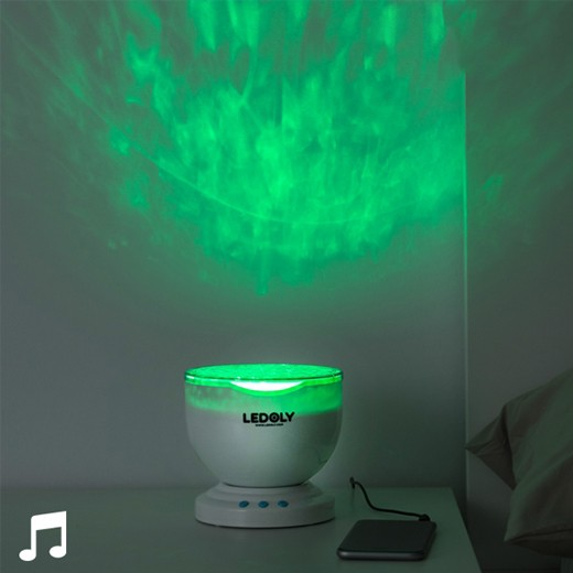 Projetor LED com Coluna Ledoly