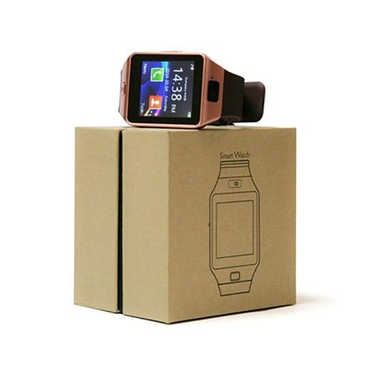 Smartwatch con Cámara y GSM Android e iOS Gold