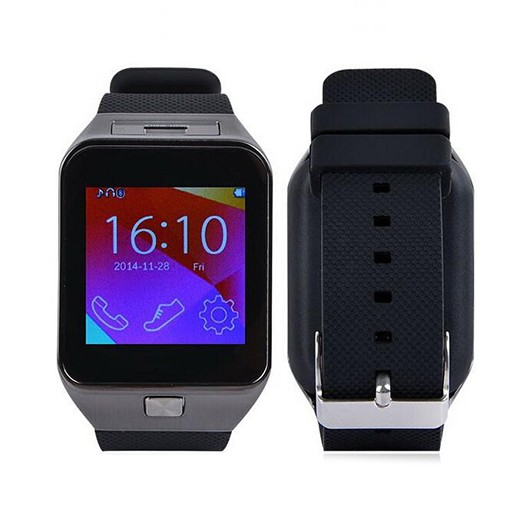 Smartwatch c/ Câmara e GSM Android e iOS Plus
