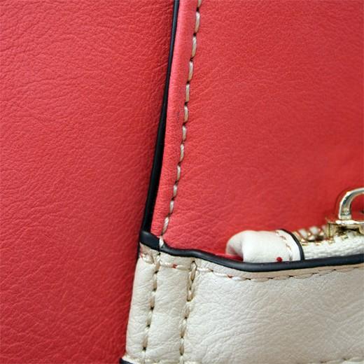 Bolso de Hombro Henley Kendall Crema/Rosa/Marrón
