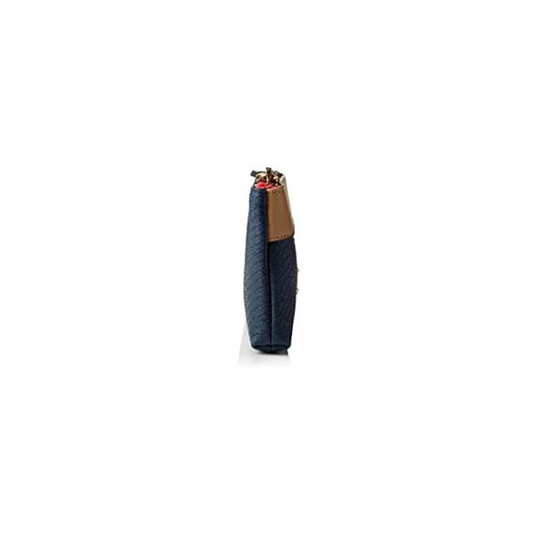 Carteira Henley Kelly Azul / Bege