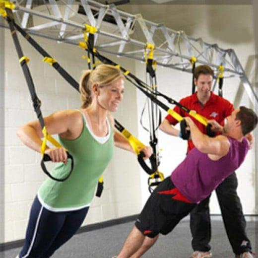 Tensores TRX para Exercícios de Suspensão