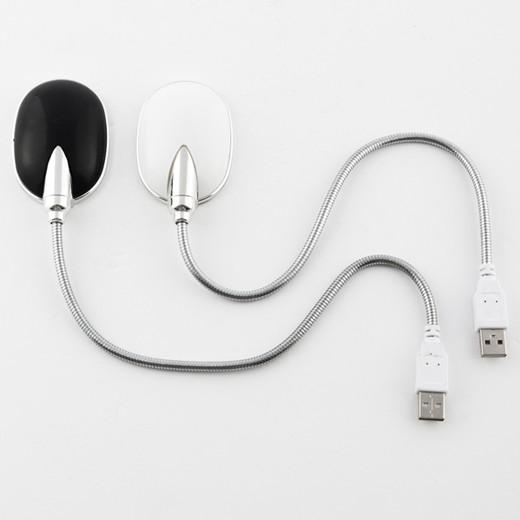 Lâmpada LED Flexível USB para Computador