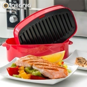 Plancha-grill para Microondas Fast & Easy Cooker