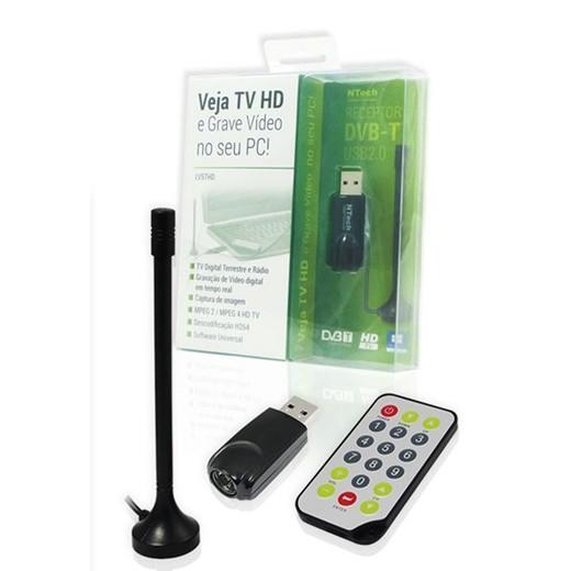 Conversor TDT TV e rádio no PC