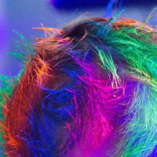 Tinta UV para Cabelo