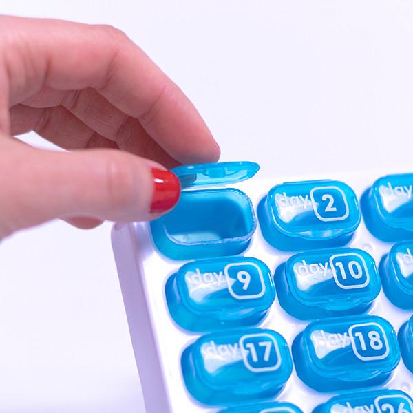 Porta-comprimidos Mensal