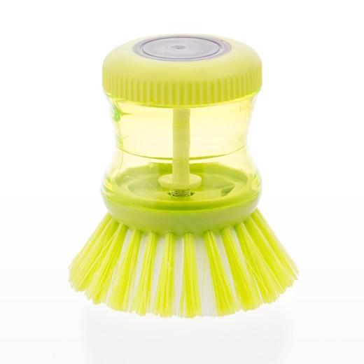 Escova Lava Louça com Depósito para Detergente