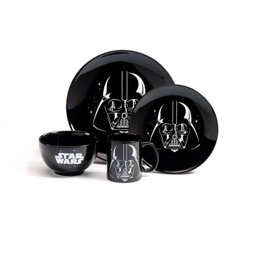 Conjunto de Comida Darth Vader Star Wars (4 piezas)