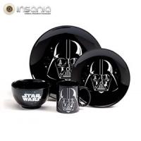 Conjunto de Refeição Darth Vader Star Wars (4 peças)