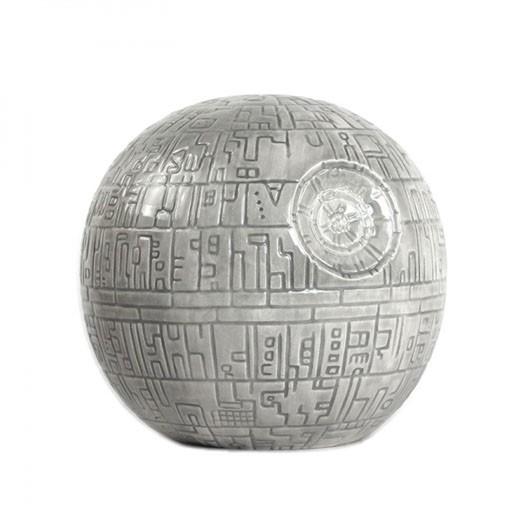 Hucha Cerámica Estrella de la Muerte Star Wars