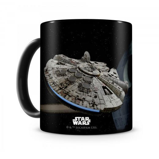 Caneca Halcon Death Star Star Wars