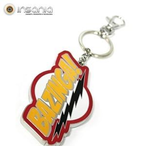 Porta-chaves Bazinga The Big Bang Theory