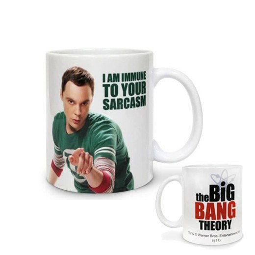 Caneca Sheldon I Am Immune To Your Sarcasm The Big Bang Theory
