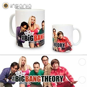 Caneca Grupo The Big Bang Theory