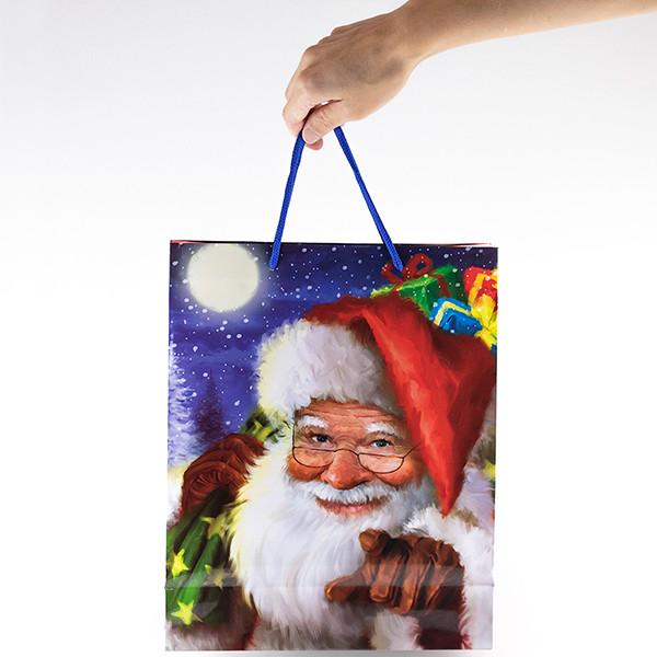 Saco de Presente Natal (26x32x10cm)