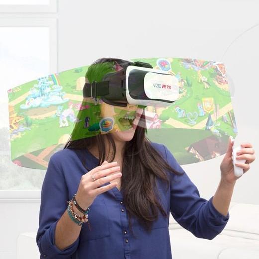 Óculos de Realidade Virtual VR 3D BOX c/ Comando
