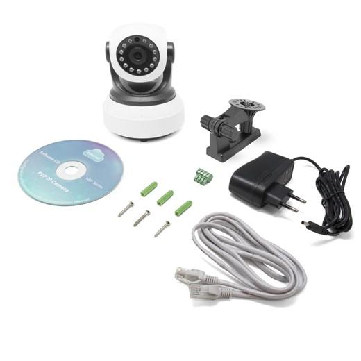 Câmara de Vigilância HD por IP Caution III
