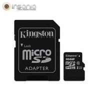 Cartão Kingston Micro SD C/ Adaptador SD 16GB