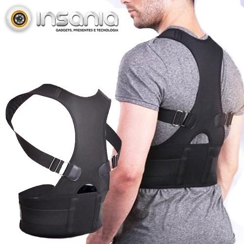Chaleco Magnético Corrector de Postura Real Doctor