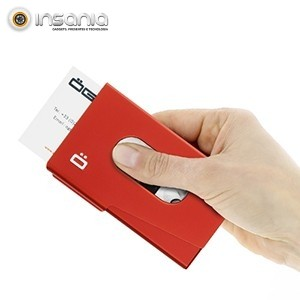 Porta-cartões OneTouch Ögon Vermelho