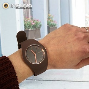 Relógio de Pulso Castanho