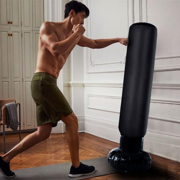 Saco de Boxeo Hinchable Punching Tower