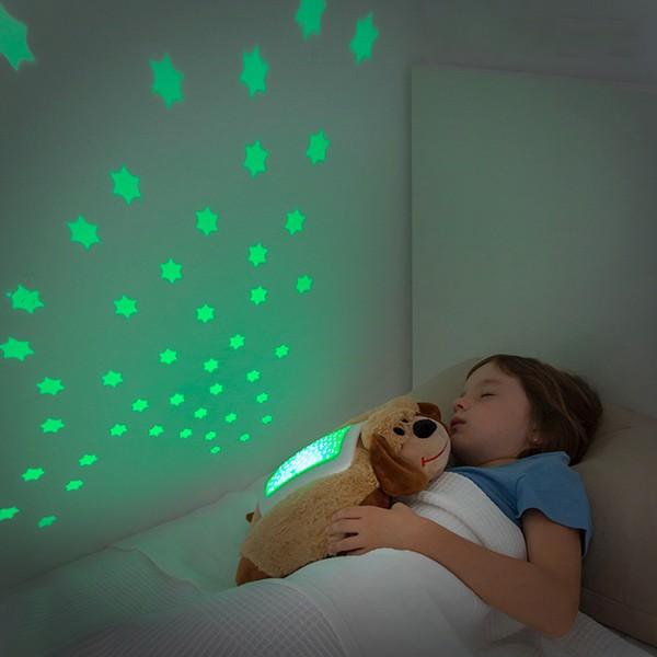 Peluche Projetor LED Glow Pillow