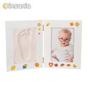 Kit de Gesso e Moldura para Bebé