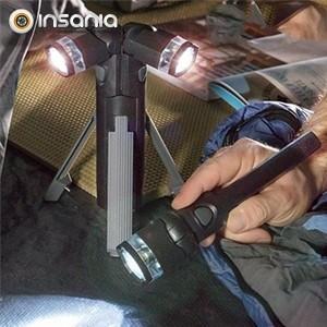 Linterna LED 3 en 1 con Trípode