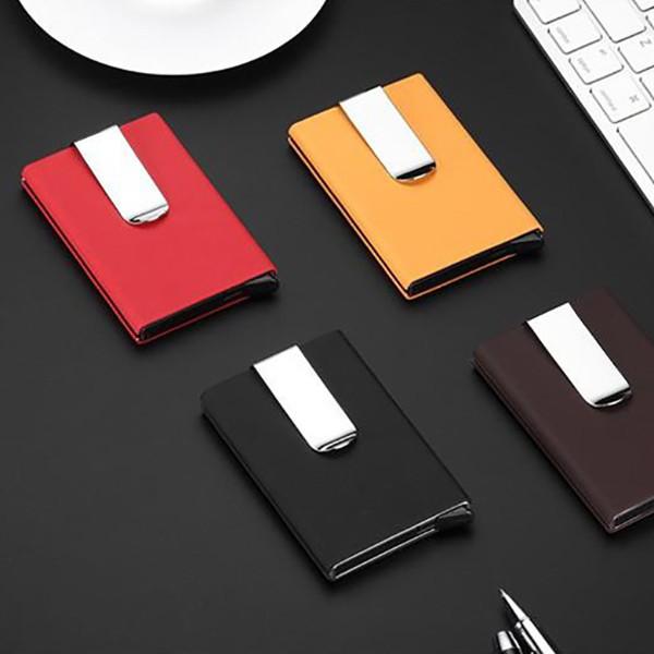 Carteira Porta-cartões em Alumínio