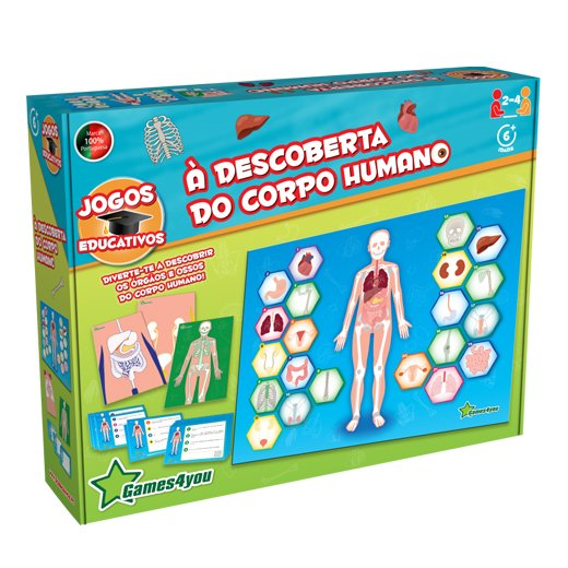 À Descoberta do Corpo Humano Science4you
