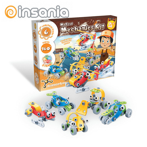 Junior Building 4 en 1 Science4you