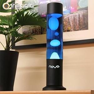 Lámpara de Lava Nova Azul