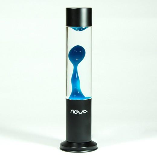 Lâmpada de Lava Nova Azul