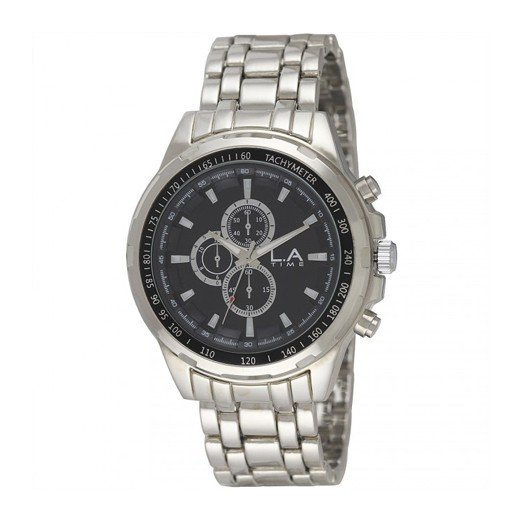 Reloj Deportivo L.A Time Negro